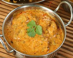 Pollo al Curry Hindú