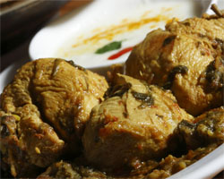 Pollo al Curry al Horno