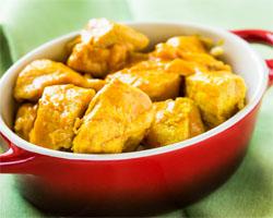 Pollo al Curry con Yogur